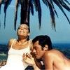 "Romy Schneider and Alain Delon in ""La Piscine"" by Jacques Deray (1969)"